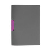 Durable Duraswing report cover Plastic, Polypropylene (PP) Pink, Grey