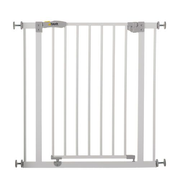 Hauck Open'n Stop baby safety gate Metal Grey, White