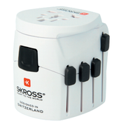 Skross 1.103175 power plug adapter Universal White