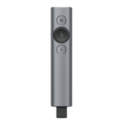 Logitech Spotlight Funk-Presenter Bluetooth/RF Grau