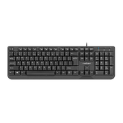 NATEC TROUT keyboard USB QWERTY US International Black