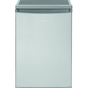 Bomann GS 2186 freezer Freestanding Upright 85 L E Stainless steel