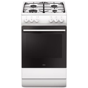 Amica 57GEH2.33ZpPF(W) Freestanding cooker Gas White A