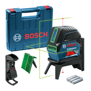 Bosch GCL 2-15 G Line/Point level 10 m 500-540 nm (< 10mW)
