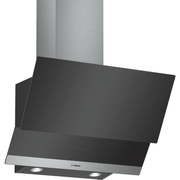 Bosch DWK065G60 cooker hood Wall-mounted Black, Stainless steel 530 m³/h C