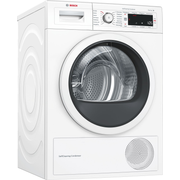 Bosch Serie 8 WTW87541 tumble dryer Freestanding Front-load 9 kg A++ White