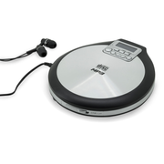 Soundmaster CD9220 CD player Personal CD player Black, Stainless steel