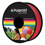 Polaroid PL-8019-00 3D printing material Polylactic acid (PLA) Red, Transparent 1 kg