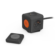 Allocacoc PowerCube power extension 1.5 m 4 AC outlet(s) Indoor Black