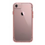 Griffin Survivor Clear mobile phone case Cover Pink gold