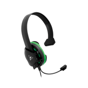 Turtle Beach Recon Chat Black Headset for Xbox one, Xbox Series X, PS5, PS4, Switch - Black & Green