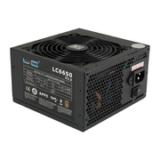 LC-Power LC6650 V2.3 power supply unit 650 W 20+4 pin ATX ATX Black