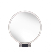 Kleine Wolke 5840116886 makeup mirror Freestanding Round Transparent