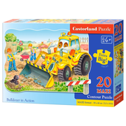 Castorland Bulldozer in Action 20 Maxi pcs Contour puzzle 20 pc(s)