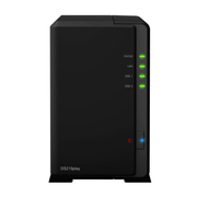 Synology DiskStation DS218play NAS Desktop Ethernet LAN Black RTD1296