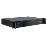 Inter-Tech 1.5U-1528L Rack Black