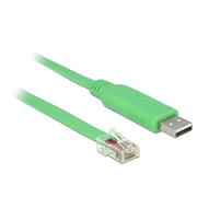 DeLOCK 62960 serial cable Green USB 2.0 RS-232