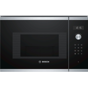 Bosch Serie 6 BEL524MS0 microwave Built-in Grill microwave 20 L 800 W Black, Stainless steel