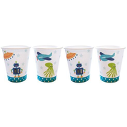 JaBaDaBaDo Robot disposable cup 8 pc(s) Paper