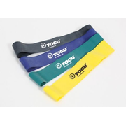 TOGU 808202 exercise band Latex Black, Blue, Green, Yellow