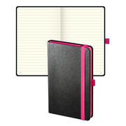 Biella 0584581.40 writing notebook 193 sheets Black, Pink