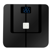 SALUS Controls 5060103693160 personal scale Square Black Electronic personal scale