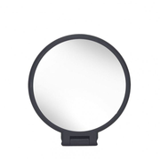 Kleine Wolke 5840926886 makeup mirror Freestanding Oval Black