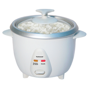 Techwood TCR-102 rice cooker 1 L 400 W White
