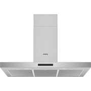 Siemens iQ300 LC96BBM50 cooker hood Wall-mounted Stainless steel 580 m³/h A
