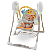 Fisher-Price BFH07 baby rocker/bouncer Grey, Multicolour