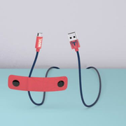 Tribe CLR21605 lightning cable 1.2 m Blue, Red