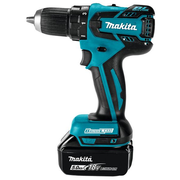 Makita DDF459Z drill 1500 RPM Keyless 1.5 kg Black, Blue