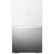 Western Digital MY CLOUD HOME Duo personal cloud storage device 6 TB Ethernet LAN Silver, White