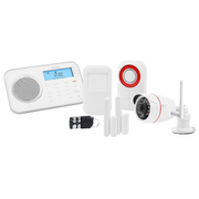 Olympia ProHome 8791 security alarm system Wi-Fi Black, Red, White
