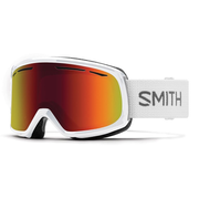 Smith Drift winter sport goggles White Women Red Cylindrical(flat) lens