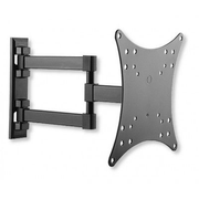 "Techly Wall Mount for TV LCD LED 23-42"" 3 Joints Tilt Black"