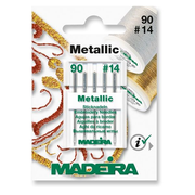 Madeira 9451 sewing needle 5 pc(s) Sewing machine Stainless steel Metallic needle