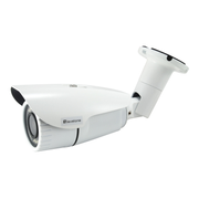 LevelOne HUBBLE Fixed IP Network Camera, H.265, 3-Megapixel, 802.3af PoE, IR LEDs, Indoor/Outdoor, Vandalproof