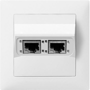 ABB 2CCA384741R0001 wall plate/switch cover White