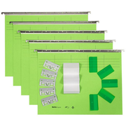 Biella 0271455.31 hanging folder A4 Cardboard Green 5 pc(s)