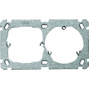 ABB 2CCA372381R0001 wall plate/switch cover Metallic