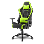 Sharkoon SKILLER SGS2 PC gaming chair Padded seat Black, Green