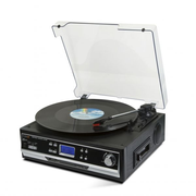 Technaxx TX-22+ Belt-drive audio turntable Black