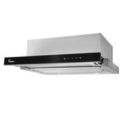 Akpo WK7LIGHTGLASSTOUCH60CZ cooker hood Semi built-in (pull out) Black 220 m³/h E