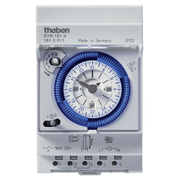Theben SYN 161 d Blue, Grey Daily timer