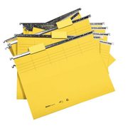 Biella 0271255.20 hanging folder A4 Cardboard Yellow 25 pc(s)