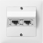 ABB 2CCA384740R0001 wall plate/switch cover White