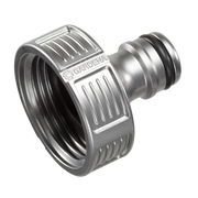 Gardena 18242-20 water hose fitting Tap connector Metal Metallic 1 pc(s)