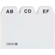 Brunnen 10-23 718 index card White 25 pc(s)