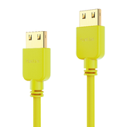PureLink PI0504-005 HDMI cable 0.5 m HDMI Type A (Standard) Yellow